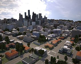 3D model Real Time City 09