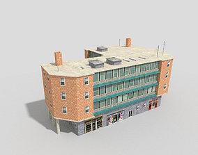3D model realtime City Office Building