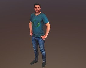 No50 - Guy Standing 3D model