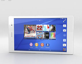 3D Sony Xperia Z3 Tablet Compact White