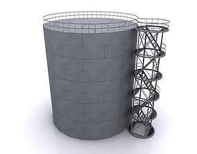 3D model petroleum reservoir