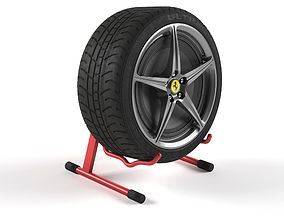 3D model Tire Speaker