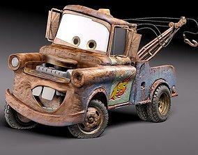car 3D model Tow Mater CARS