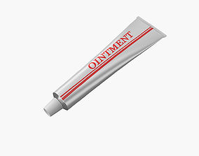 Ointment Toothpaste 3D model