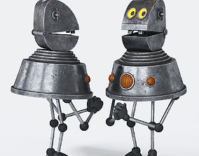 3D model The Mystery of the Third Planet Robot