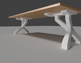 Bed table - Table de lit - Mesa de cama 3D printable model