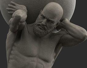 Atlas Statue printable