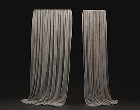 3D Curtain Biege-19
