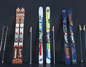 Ski board 3D