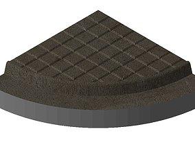 Scalextric Compatible R1 Pavement 3D printable model 5