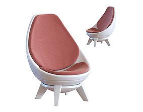 3D model Modern Chair - Sway Lounge Seating