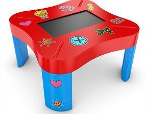 3D model Cras Mini Multitouch Table