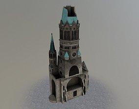 3D model Berlin Kaiser Church