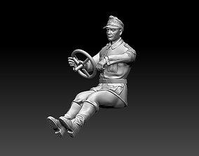 3D printable model world german driver soldier