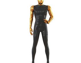 Faceless male mannequin 47 3D