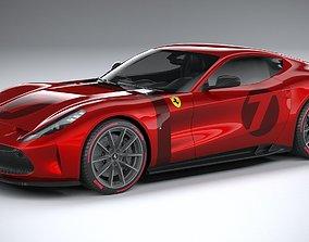 3D model Ferrari Omologata 2020 LowPoly