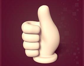 3D asset Cartoon Hand Figurine