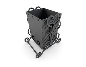 3D model Garbage can
