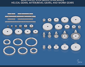 bevel Ultimate Gear Collection 3D printable model