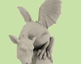 3D print model Dragon Statuette A