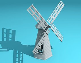 windmill 3D print model hobbies