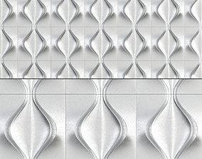 realtime 3D gypsum panels Volgograd low poly 3d model