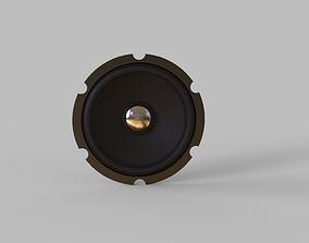 3D model speaker inside