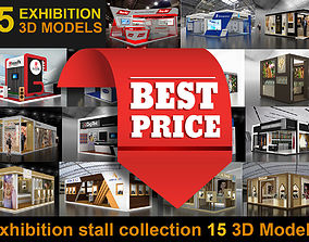 15 3d Models of Exhibition Stall stands