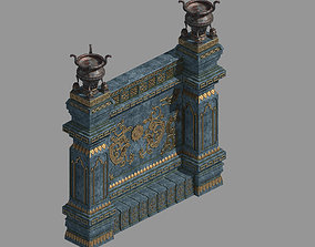 3D Zhentian Palace-Statue Wall