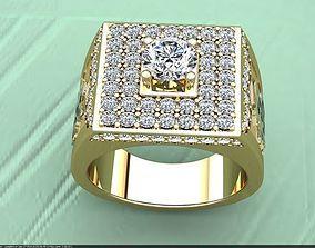 3d stl male ring 023