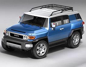 Toyota FJ-cruiser 2008 3D model