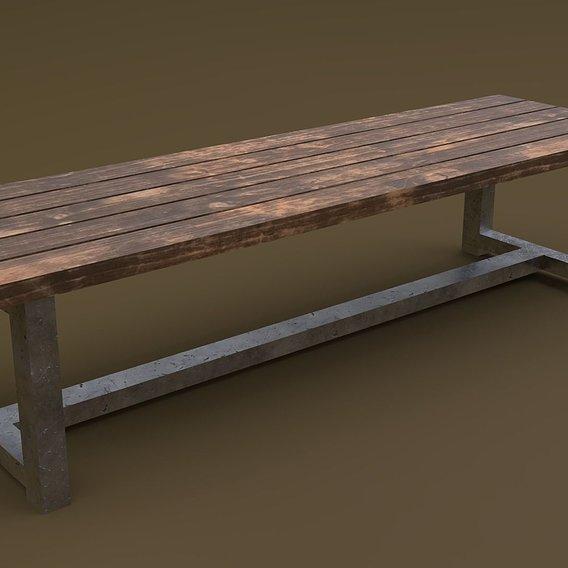Bench 01 R