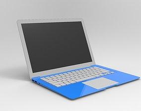 tablet-computer 3D model Apple Macbook Air