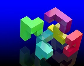 Custom Puzzle Cube Blocks 3D print model