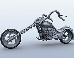 3D Sci Fi Motorcycle