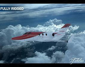3D Honda jet