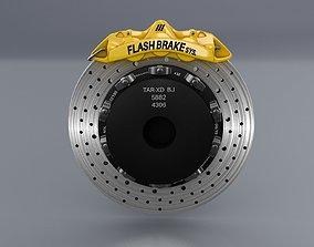 Car Disc Brake 3D model