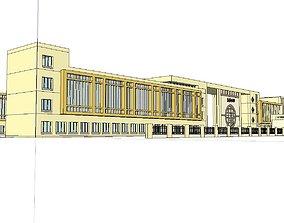 3D model Region-City-School 68