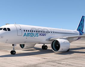 3D model AIRBUS A320 NEO