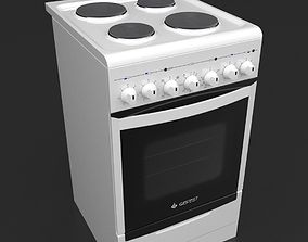 Electric cooker 3D