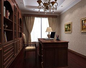 3D model Study Room Interior