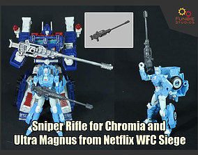 Chromia and Magnus Sniper Rifle from 3D print model 2