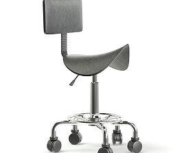 Salon Stool 3D model