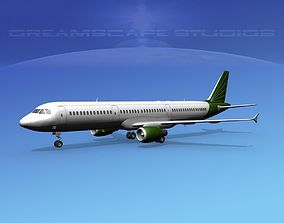 3D Airbus A321 Corporate 2