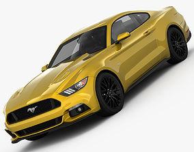 3D model GT 2015 detailed interior