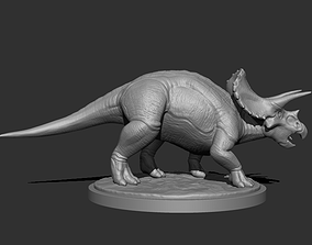 3D Triceratops for Printing