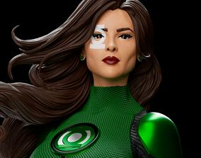 Green Lanter - Jessica Cruz 3D printable model
