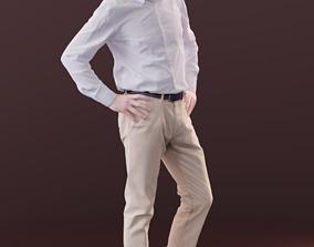 Carlos 10186 - Standing Business Man 3D asset