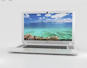 Acer Chromebook 15 White 3D model