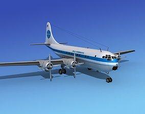 3D model Boeing 377 Pan Am 3